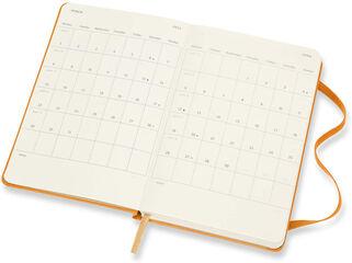 Agenda Moleskine 2020 - 2021 18 meses Pocket Semana Vista Inglés Naranja (9x14 cm)