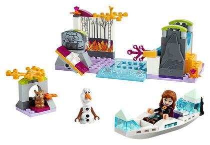 LEGO PRINCESES FROZEN Anna en canoa