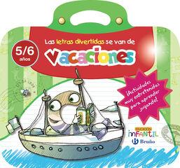 LETRAS DIVERTIDAS INFANTIL 5 AÑOS Bruño Quaderns 9788469613542