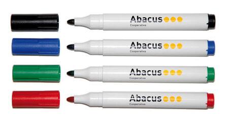 Rotulador pizarra Abacus 10 u. Azul