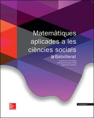 MATEMÀTIQUES SOCIALS 1r BATXILLERAT McGraw-Hill Text 9788448196073
