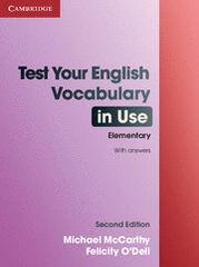 CUP USE/Test-vocabulary ELE/Book+key Cambridge 9780521136211