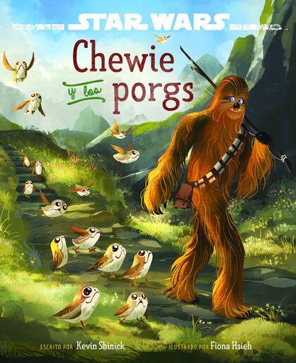 Los últimos Jedi. Chewie y los porgs