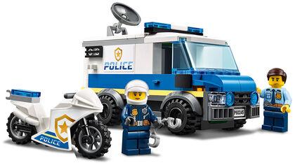LEGO City Police  Policía: Atraco del Monster Truck (60245)