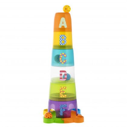Juego de construcción Chicco Súper Torre Apilable