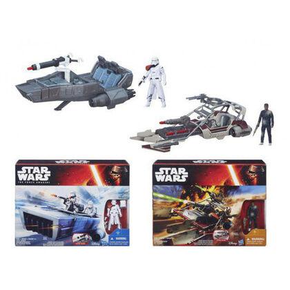 Star Wars Class Ii Vehicle +Figura Assor
