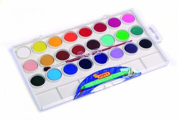 Estuche de acuarelas Jovi 24 colores