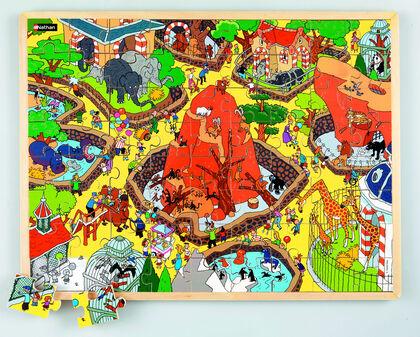 Puzzle Nathan El zoo