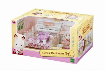 Ambientes Sylvanian Families Habitación niñas