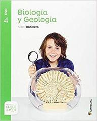 Biología y geología/Observa/16 ESO 4 Santillana Text 9788414101704