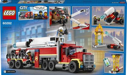 LEGO City Fire Unidad de Control de Incendios (60282)
