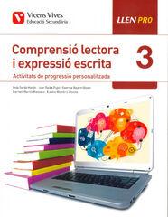 COMPRENSIÓ LECTORA I EXPRESSIÓ ESCRITA3 ESO LLEN PRO Vicens Vives 9788468245157