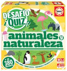 Joc didàctic Educa Desafío Quiz Animals i natura