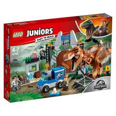 Lego Juniors Jurassic World Fuga del T-Rex