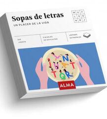 SOPAS DE LETRAS, UN PLACER DE LA VIDA