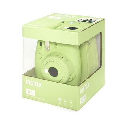 Pack Instax Mini 9 + Funda + Recambio Verde