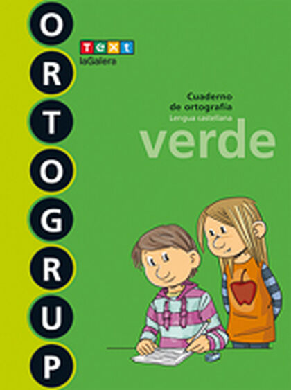 ORTOGRUP VERDE 4º PRIMARIA Text 9788441230101