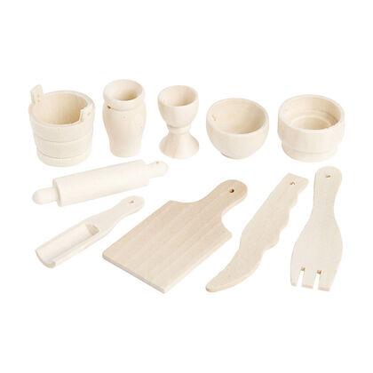 Maqueta Creative 3D mini herramientas cocina
