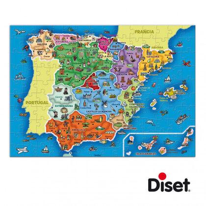 Puzzle Províncias y autonomías de España Diset
