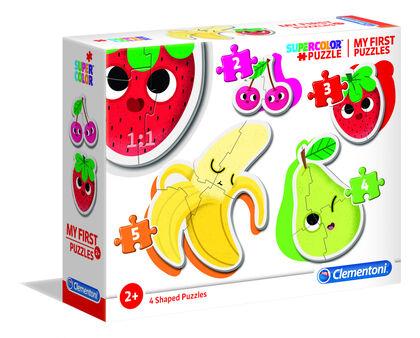 Puzzle Clementoni Frutas y verduras