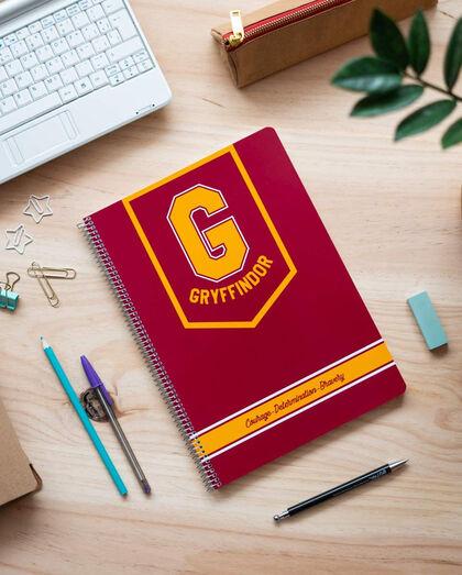 Cuaderno espiral A4 Harry Potter Gryffindor
