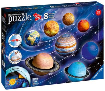 Puzzle 3D Ravensburger Sistema planetario
