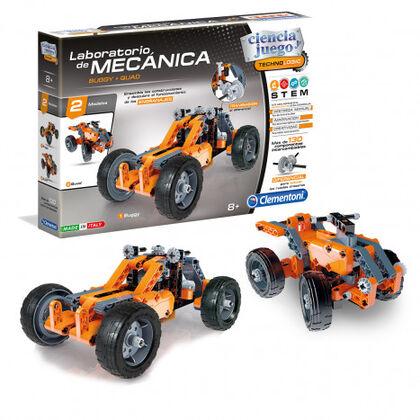 Juego científico Clementoni Mecánica buggy / quads