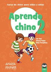 ANE Aprendo chino 2 Anaya 9788469865316