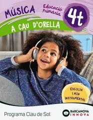 MÚSICA A CAU D'ORELLA 4RT PRIMÀRIA Barcanova Text 9788448944698
