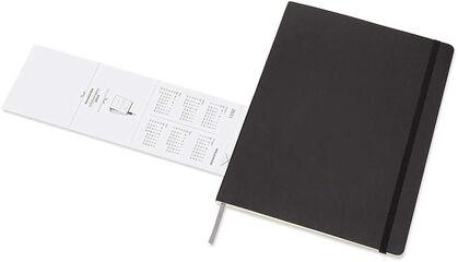 Agenda mensual Moleskine 2020 - 2021 18 meses Mes Inglés Negro (19x25 cm)