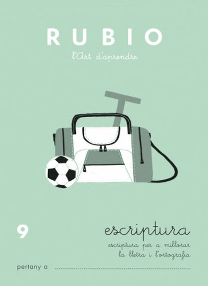 ESCRIPTURA 09 PRIMÀRIA Rubio 9788489773592