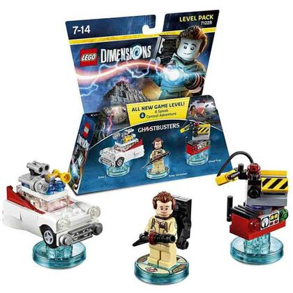 LEGO DIMENSIONS LEVEL PACK CAZAFANTASMAS