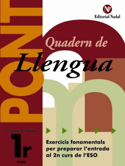 LLENGUA I LITERATURA PONT 1r ESO Nadal 9788478874965