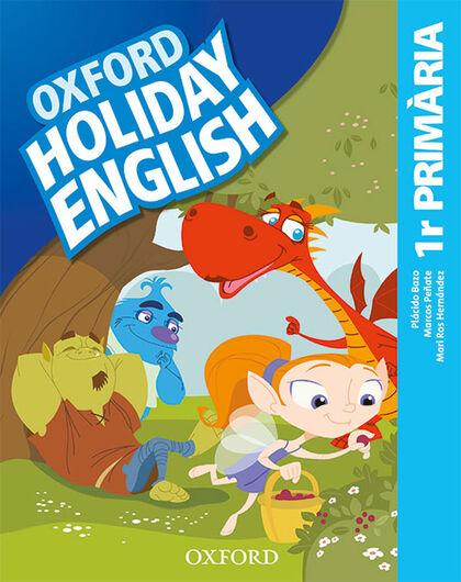 HOLIDAY ENGLISH 1 PRIM CAT 3ED REV Oxford 9780194546409