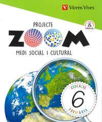 MEDI 6 SOCIAL I CULTURAL (ZOOM) Vicens Vives 9788468262703
