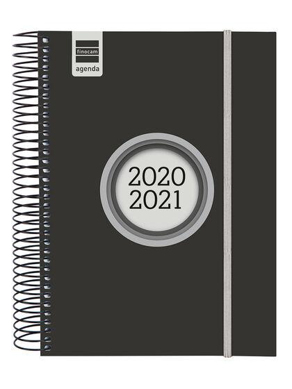 Agenda EscolarFinocamLaberE10 2020 - 2021 Día Castellano Negro