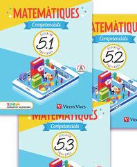 MATEMATIQUES COMPETENCIALS 5 VAL TRIM (ZOOM) Vicens V. València 9788468263311