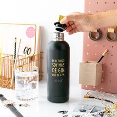 Botella Mr.Wonderful En el fondo soy más de Gin