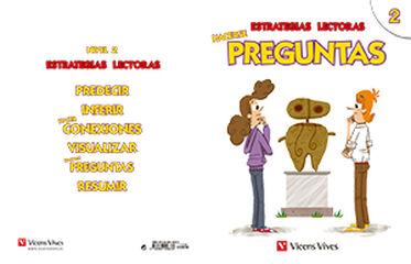 ESTRATEGIAS LECTORAS PREGUNTAS 2 6º PRIMARIA Vicens Vives- 9788468226330