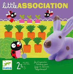 Juego de memoria Djeco Little association