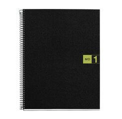 Cuaderno espiral Miquelrius A4 5x5 80F Verde