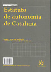Estatut d¿autonomia de Catalunya/Estatut