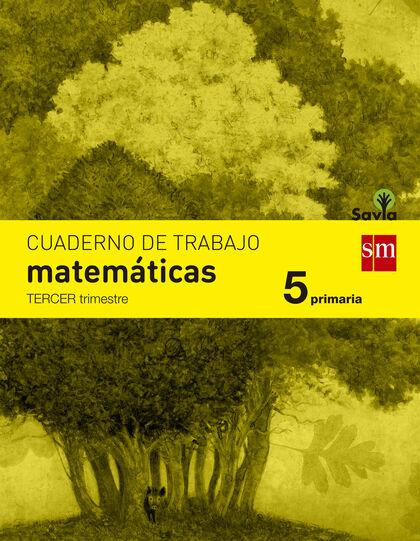 MATEMÁTICAS-CUADERNO 3 SÁVIA 5º PRIMARIA SM 9788467570168