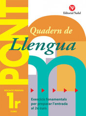 LLENGUA PONT 1r PRIMÀRIA Nadal 9788478874460