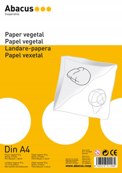 Papel vegetalAbacusA4