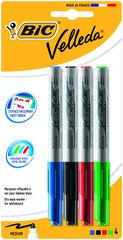 Rotulador Pizarra Velleda Bic Medium 4 colores