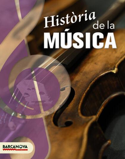 Història de la música ESO 4 Barcanova Text 9788448927721