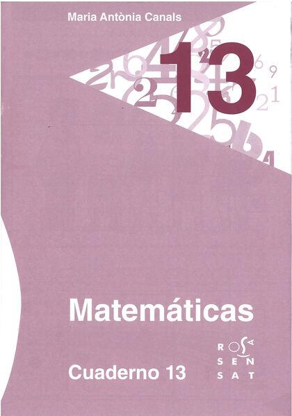 13DRS Cuaderno 13 Rosa Sensat 9788492748945
