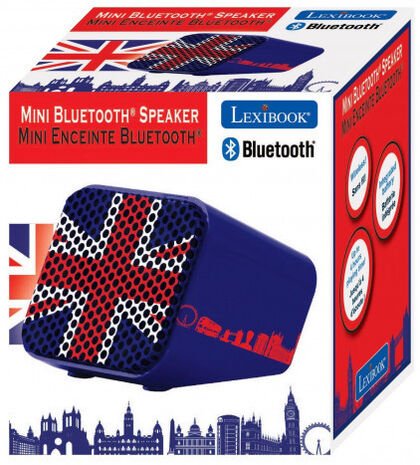 ALTAVOZ BLUETOOTH LEXIBOOK UK