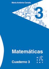 3DRS Cuaderno 03 Rosa Sensat 9788492748440